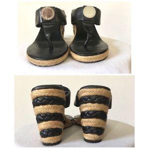 BCBGeneration Shoes - BCBGeneration Wedge Thong Sandals